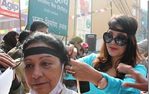 karishma-manandhar-protest
