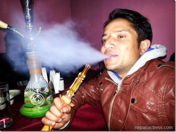 shyam bhattarai smoking