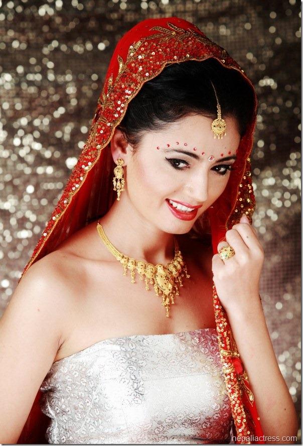 simpal khanal - dulahi dress