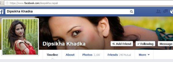deepsikha khadka facebook