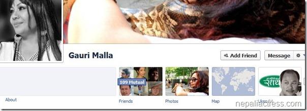 gauri malla facebook