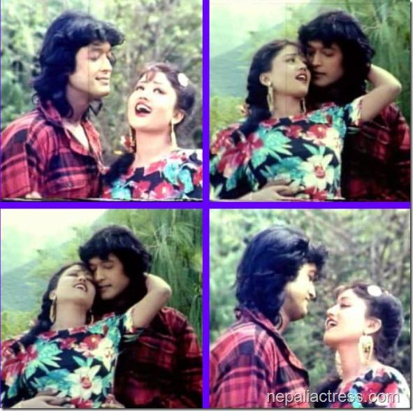 kristi with rajeshmal film scene
