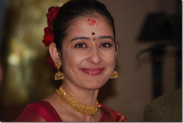 manisha koirala traditional