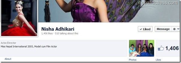nisha facebook profile