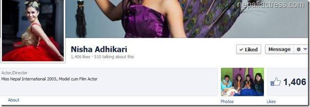nisha facebook profile