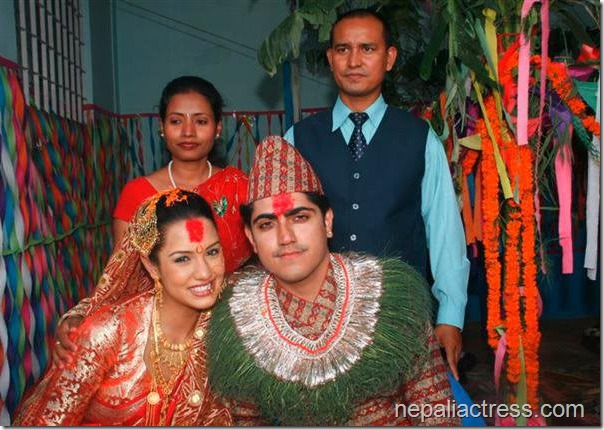 priyanka karki marriage rochak mainali