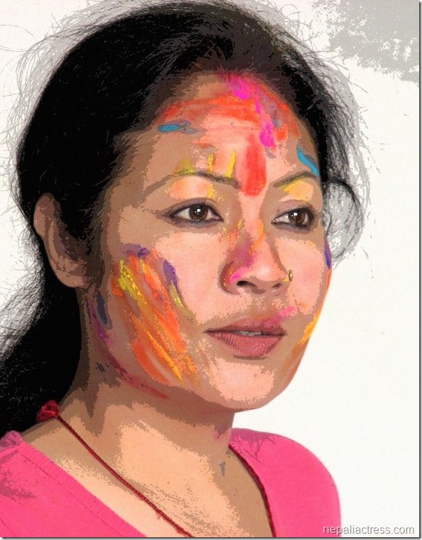 gauri malla holi colors