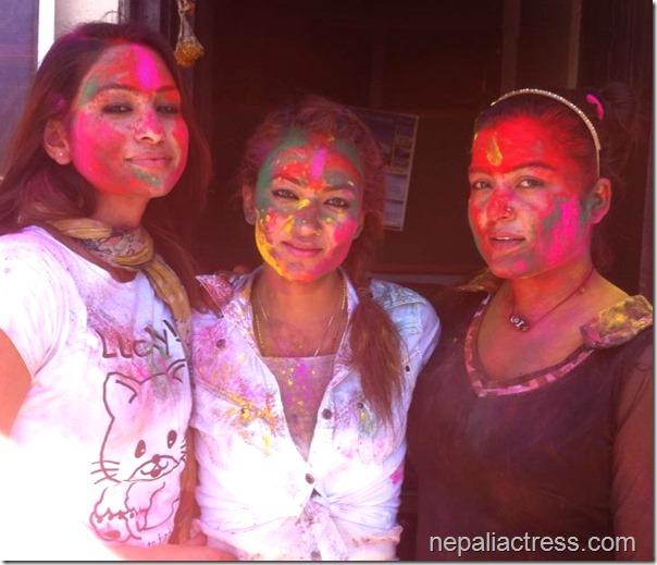 jharana Thapa Holi (3)