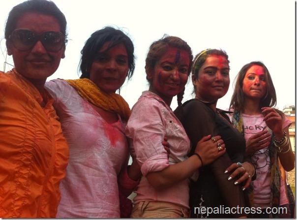 jharana Thapa Holi (6)