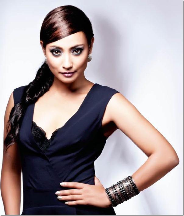 jharana bajracharya confident look