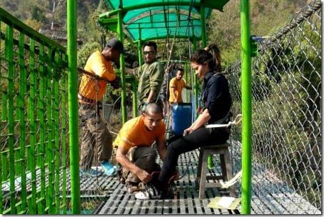 mamata pradhan bungee jump 1