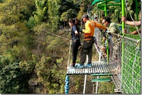 mamata pradhan bungee jump 2