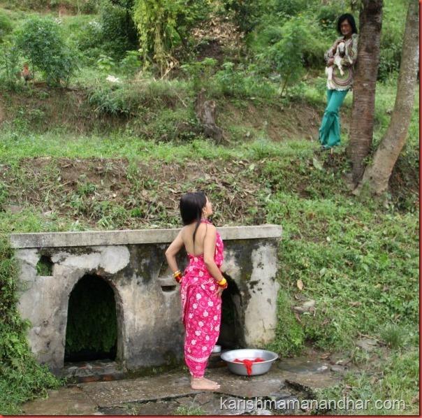 Karishma manandhar Rajesh Hamal kina kina bath scene
