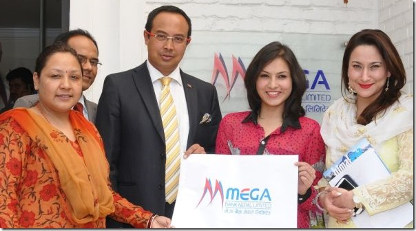 mega bank supports Nisha Adhikari mt everest