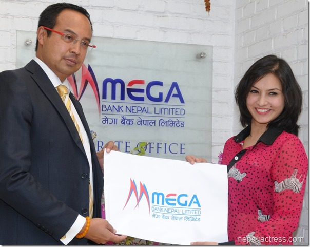 mega bank supports Nisha Adhikari