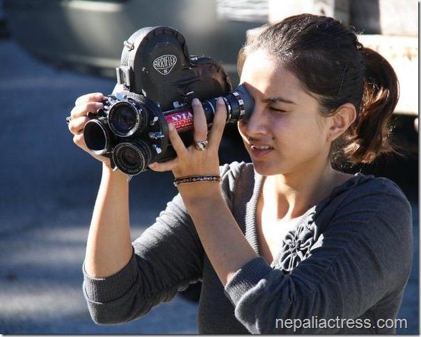 nisha adhikari shooting