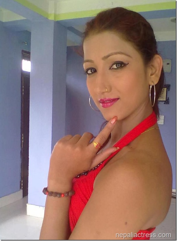 sarika ghimire beautiful pose