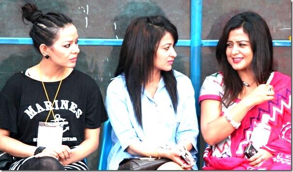 Poojana Jharana and Rekha Thapa