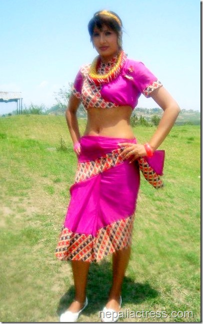 Suvekshya Thapa traditional dress