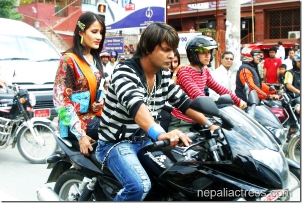 jiya kc and raj timilsina in ho yehi maya ho