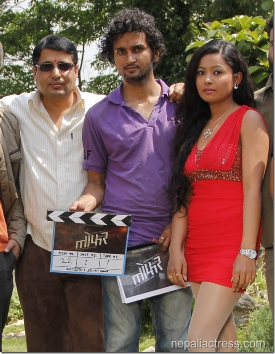 loafer shooting starts - actors and producer