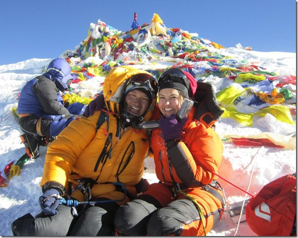nisha and zangbu top of mt everest