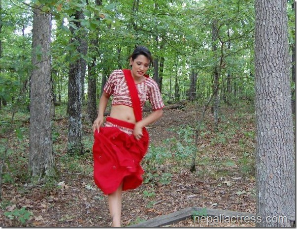 priyanka karki in jungle