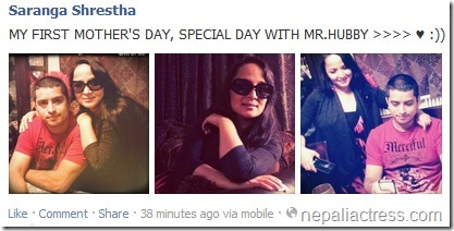 saranga shrestha mothers day