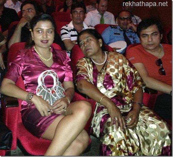 rekha thapa in ofa film award