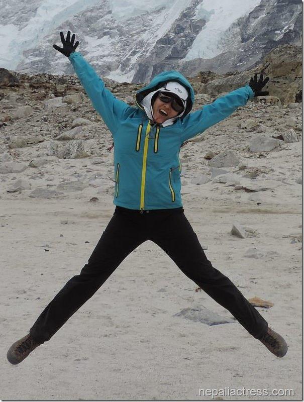 nisha adhikari jumping