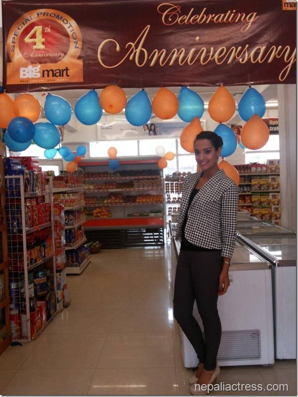 priyanka karki big mart anniversary