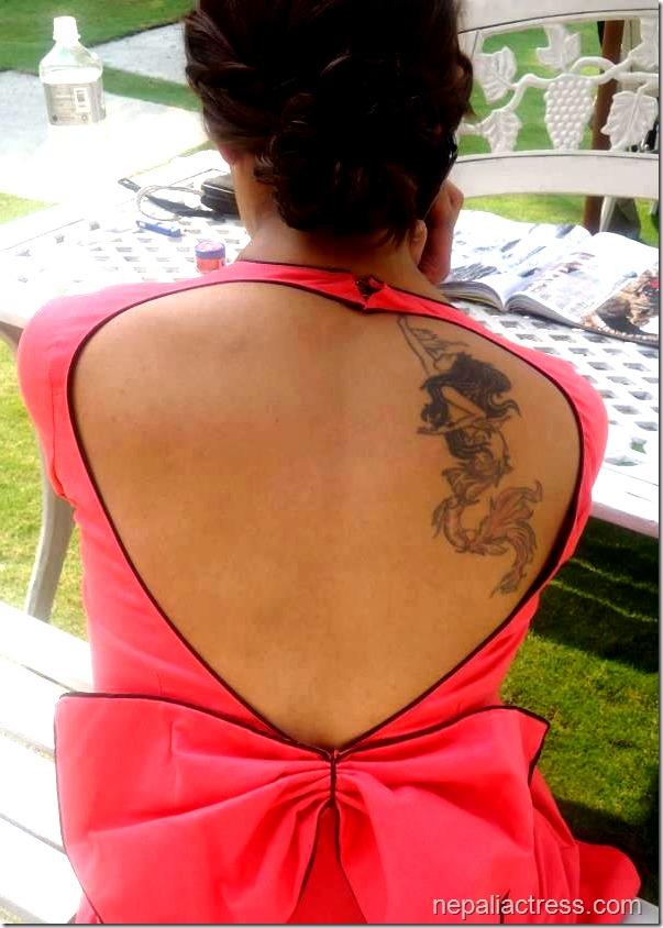 priyanka karki tattoo