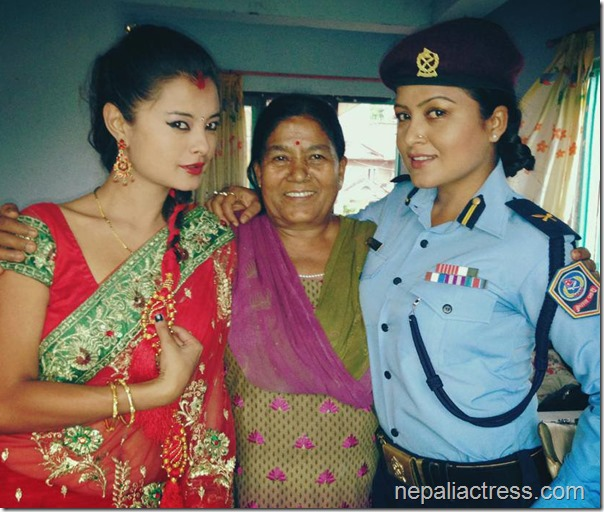 sushma Karki rekha thapa and rekha mother
