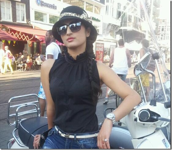 Garima pant in Belgium Aug 2013