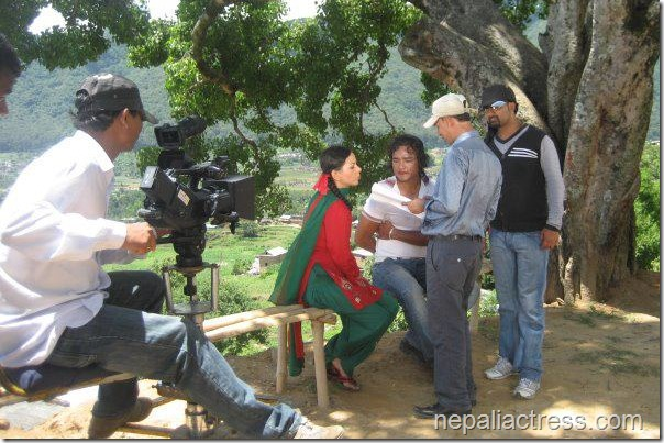 Timro Kasam - movie shooting (1)
