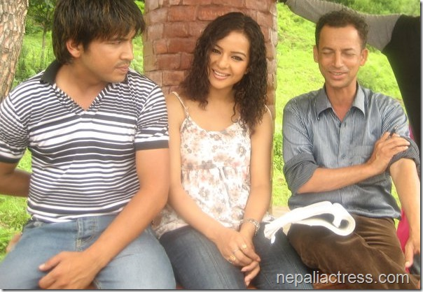 Timro Kasam - movie shooting (3)