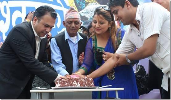 deepshree niarula -birthday cake