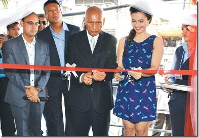 nisha adhikari suzuki showroom opening