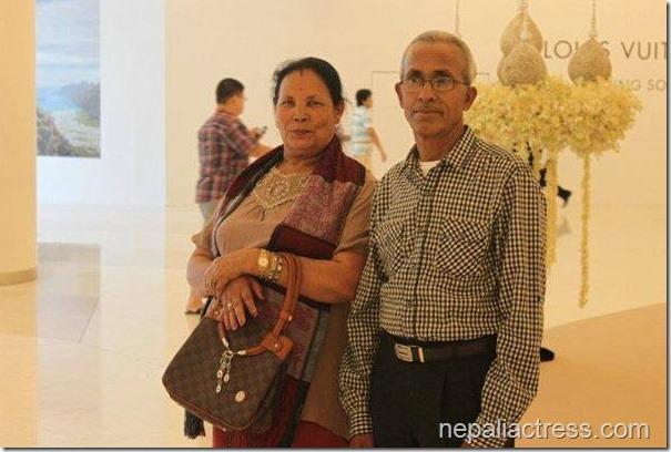 sunita dulal parents