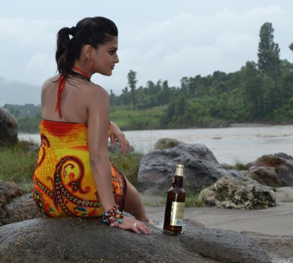 shilpa pokharel hot beer and nature