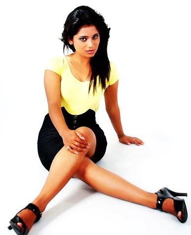 keki adhikari in mini skirt