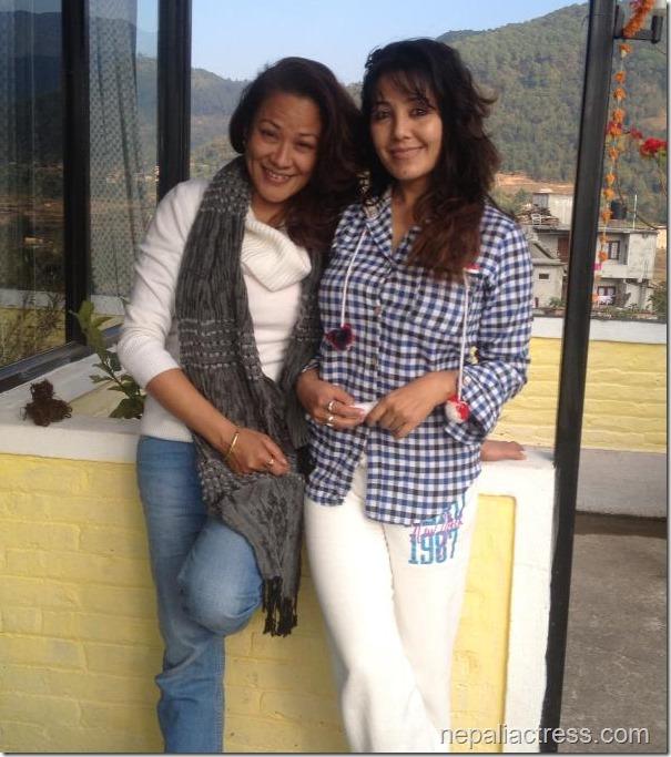 sushmita Bomjon and karishma manandhar