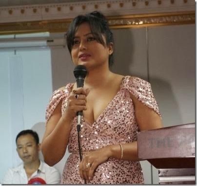 rekha thapa adressing hk audiance