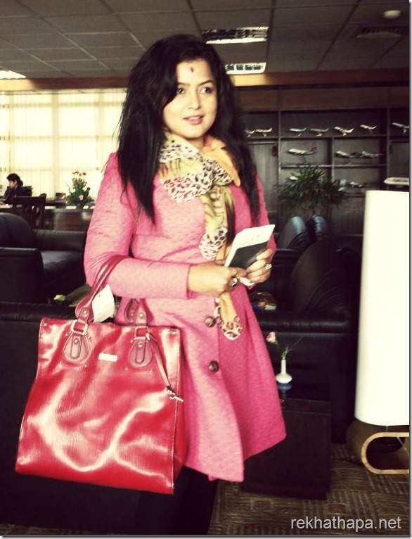 rekha thapa leaving for hong kong