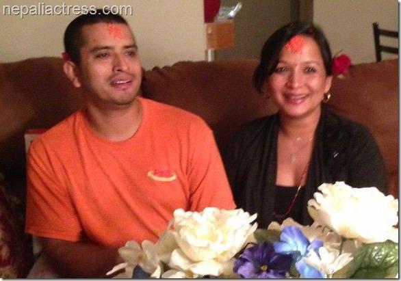 Happy marriage anniversary saranga shrestha nepali actress
