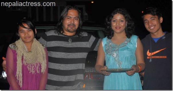 pooja chand and raju lama family