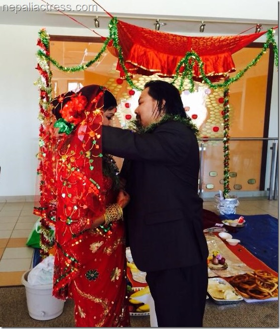 pooja chand marriage to raju lama feb 2014 (6)