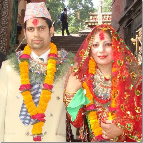 samana sitoula marriage photos