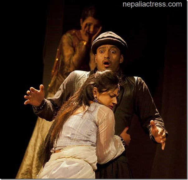 Keki adhikari in charumati play