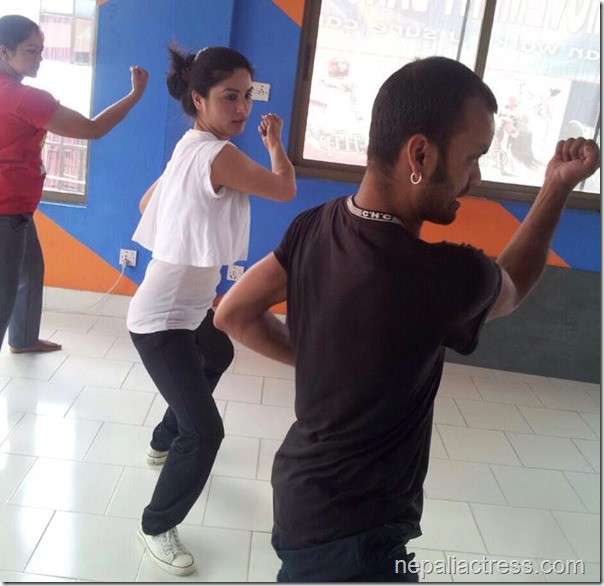 garima pant - thuli fight training (3)